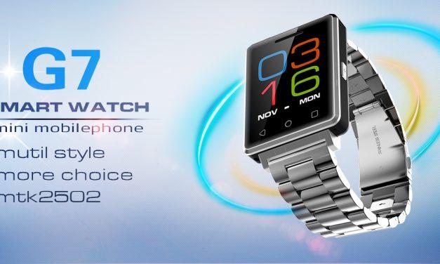 No.1 G7, un híbrido entre smartwatch y móvil
