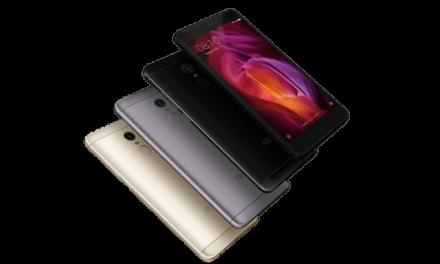 Xiaomi Redmi Note 4, con Snapdragon y menos biseles