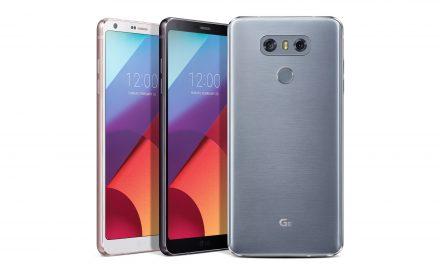 LG G6, pantalla de 5.7 pulgadas en una mano