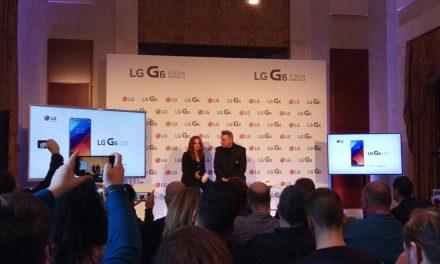 LG G6, el smartphone todo pantalla llega a España de la mano de Loquillo