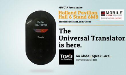 Travis Traductor, 80 idiomas en tiempo real