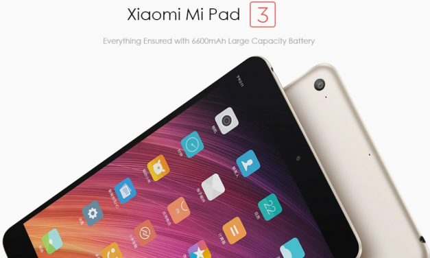 Xiaomi Mi Pad 3, oferta de salida en Banggood