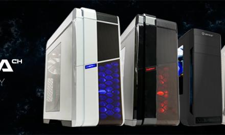 UNYKAch Exagon y Armor, cajas gaming ATX que darán que hablar