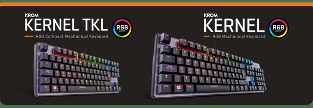 KROM Kernel y Kernel TKL