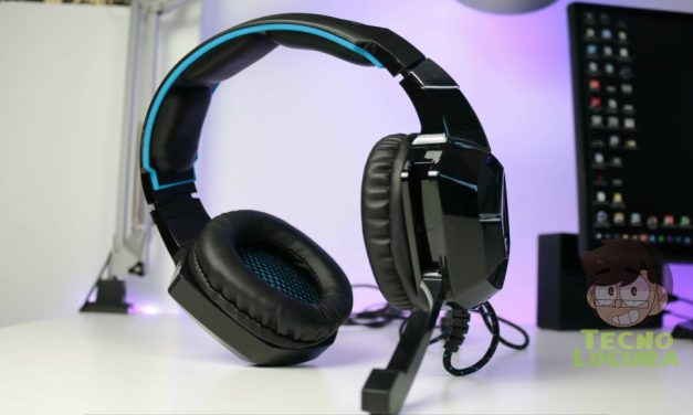 EasySMX ESM-K5. Stereo Gaming Headset (Black-Blue)