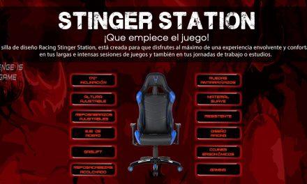 Stinger Station Alien, la silla gaming que estabas esperando