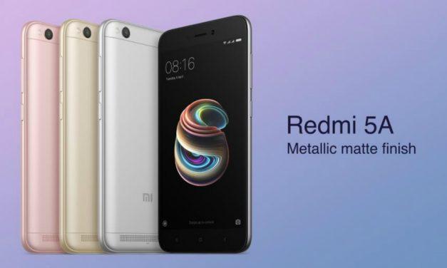Xiaomi Redmi 5A. El rey de la gama económica