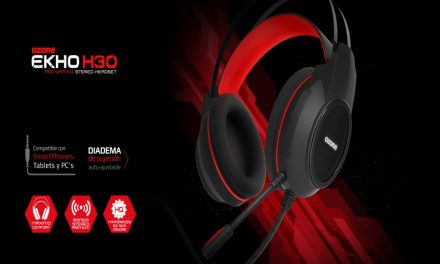 Ozone Ekho H30, auriculares ultraligeros sonido premium