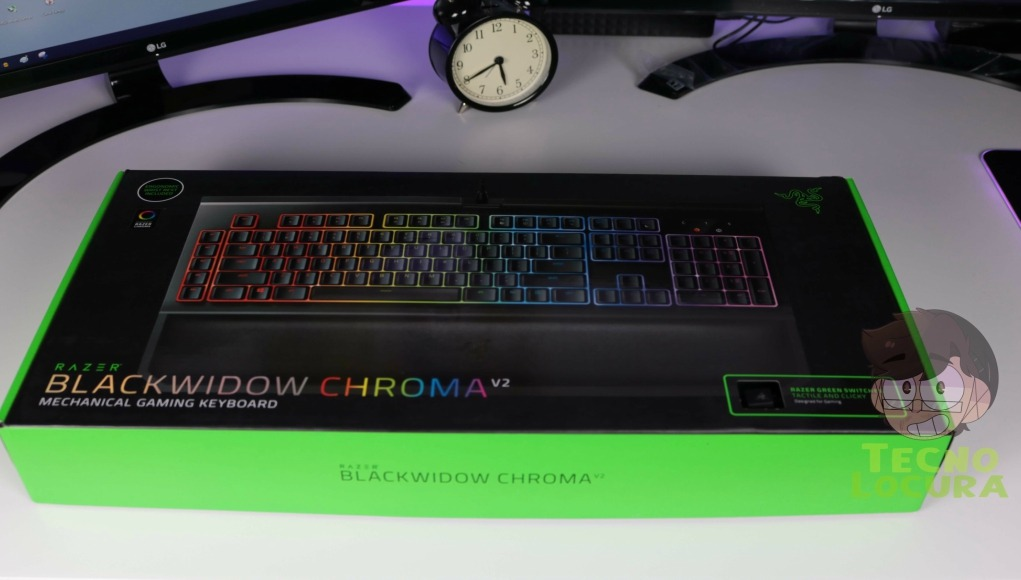 RAZER Blackwidow Chroma V2, ¿mejor teclado mecánico?