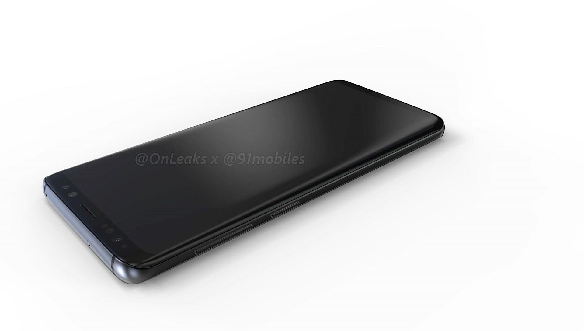 Render Samsung Galaxy S9