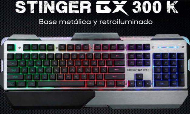Teclado para jugadores Stinger GX 300 K