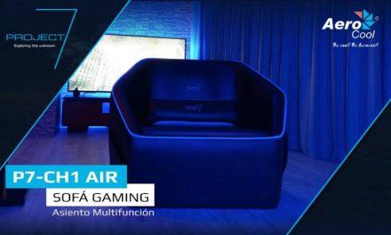 P7-CH1 Air, sofá gaming de Project 7 AeroCool
