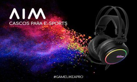 AIM presenta sus auriculares 7.1 para e-sports y gaming