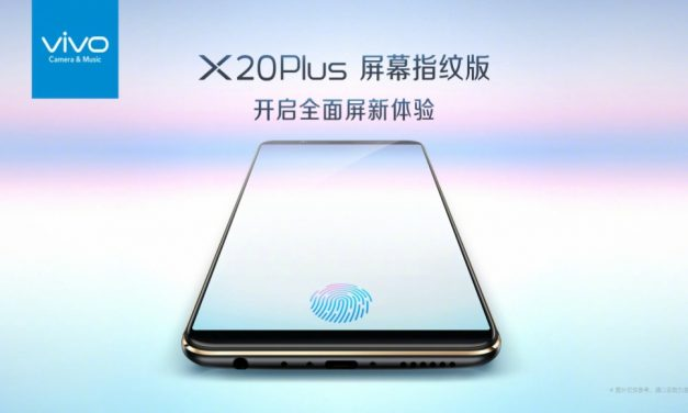 Vivo X20 Plus: primer móvil con lector de huellas en pantalla