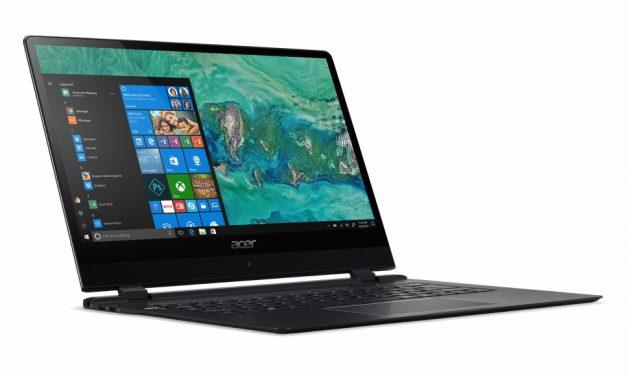 Acer Swift 7, el portátil más fino del mundo