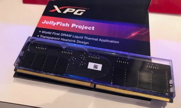 ADATA Project JellyFish: Memoria RAM con aceite mineral