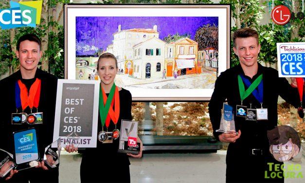 LG OLED IA TV gana el premio CES 2018 al mejor producto de televisión