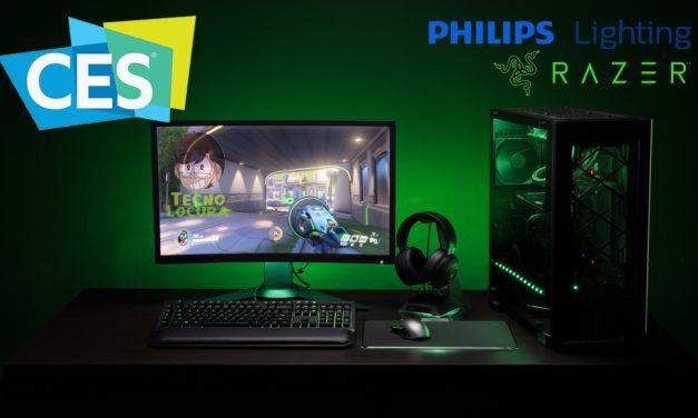 Philips Lighting y Razer se alían para crear una experiencia gamer poderosa