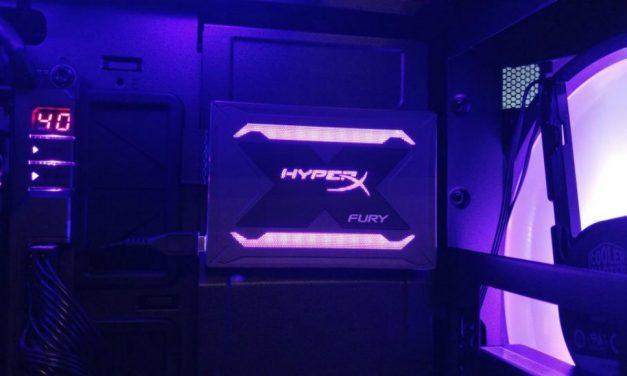 HyperX Fury RGB. Hasta los SSD con lucecitas ya