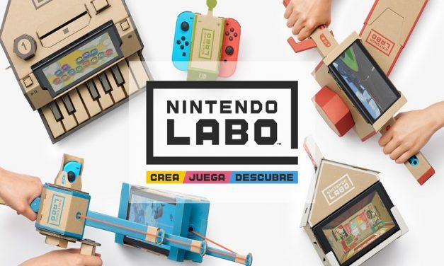 Lo nuevo de Nintendo. Nintendo Labo ¿Funcionará?
