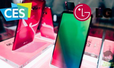 CES 2018: LG presenta el LG V30 raspberry rose