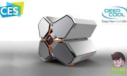 DeepCool QuadStellar Electro, un chasis que impresionara