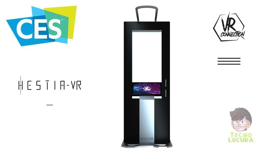 HESTIA VR, el primer «quiosco»  de Realidad Virtual
