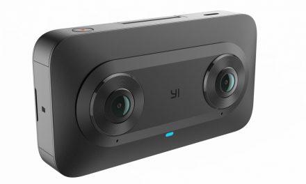 YI Horizon VR180. YI y GOOGLE presentan SU cámara