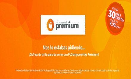 PcComponentes Premium: tarifa plana de envíos por 9,95€/año
