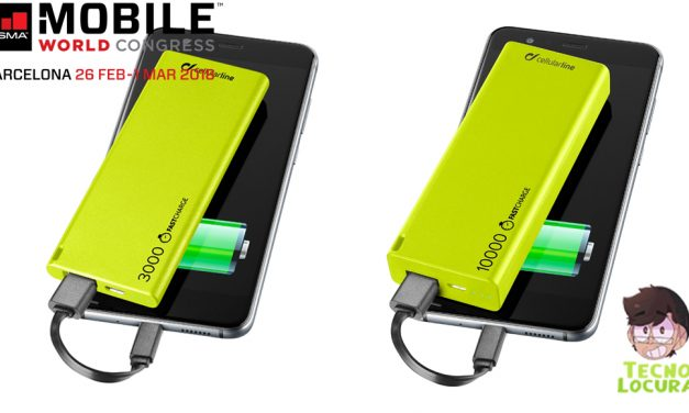 Cellularline lanza FREEPOWER SLIM  sus baterías externas: más pequeñas y potentes