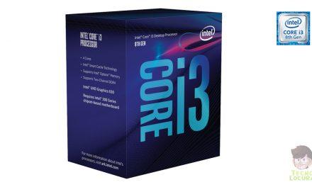 Llega la 8ª generación del procesador Intel Core i3