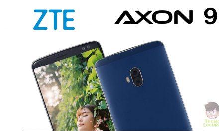 ZTE Axon 9, panel AMOLED conSnapdragon 845