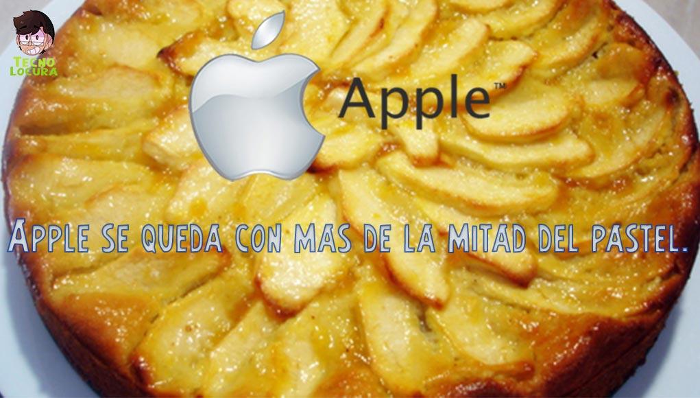 Apple, pulveriza en beneficios a todos sus rivales.