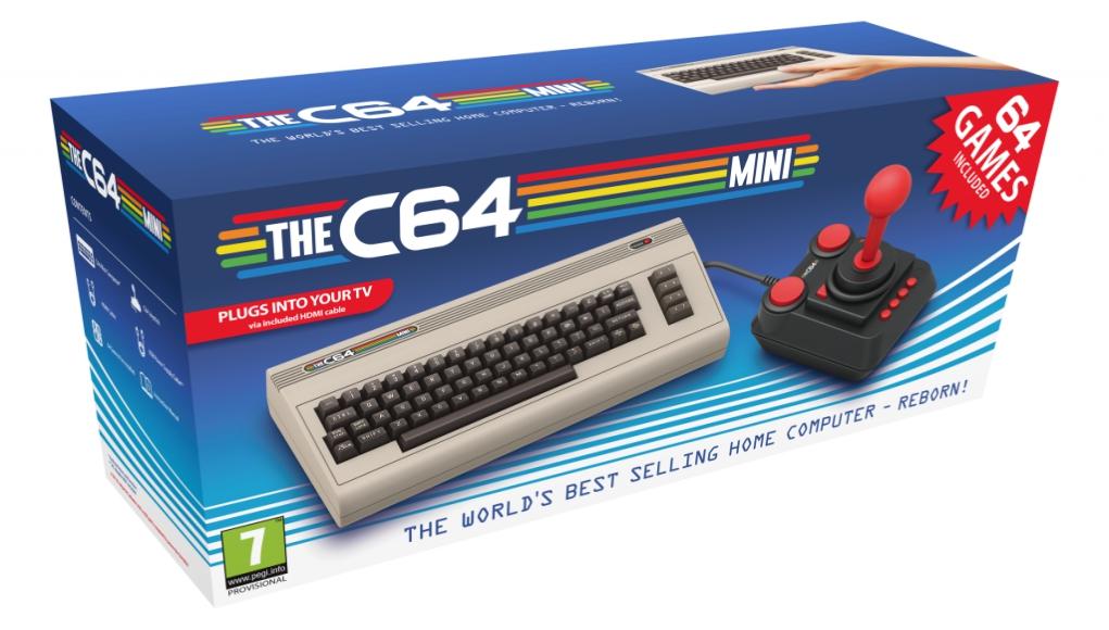 The C64 Mini, el nuevo Commodore 64