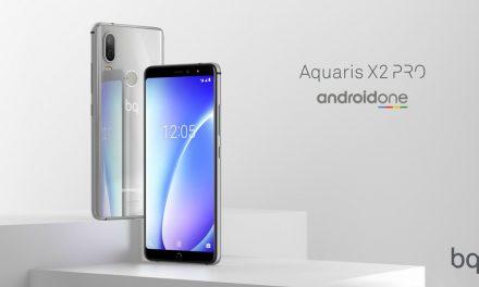 Aquaris X2 y Aquaris X2 Pro estarán disponibles con Android One