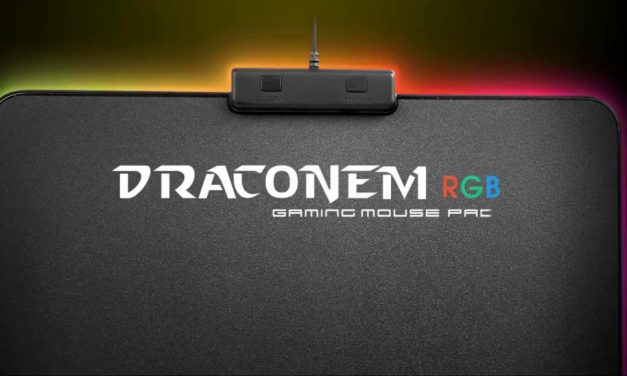 TteSPORTS DRACONEM RGB: Alfombrilla con Touch ID