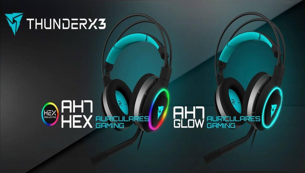ThunderX3 AH7 nuevos auriculares de alta competición