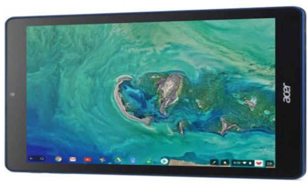 Acer Chromebook Tab 10 con sistema operativo Chrome