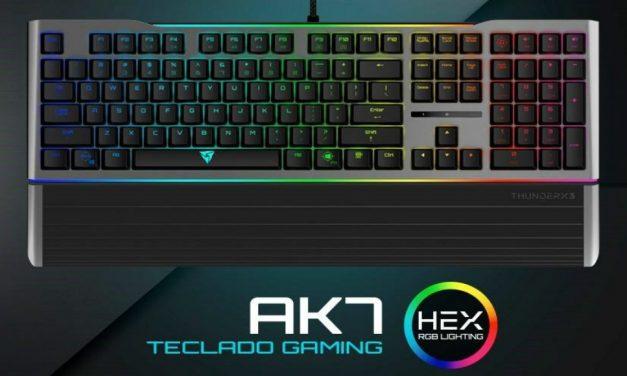 ThunderX3 AK7 es el teclado gaming definitivo