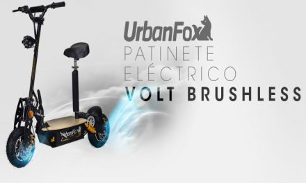Urban Fox fabrica patinetes de mercancias
