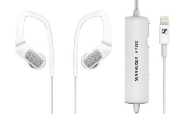 Sennheiser Ambeo Smart Headset: grabación sonido tridimensional y Lightning Apple MFi