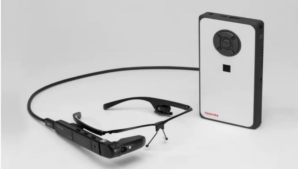 Toshiba dynaEdge AR100. Otro punto de vista VR