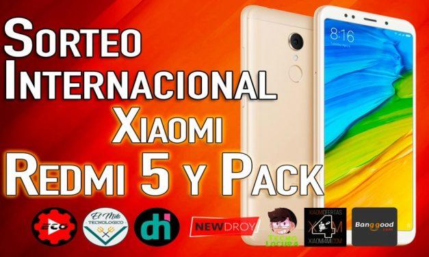 SORTEO Xiaomi Redmi 5 + Accesorios FINALIZADO