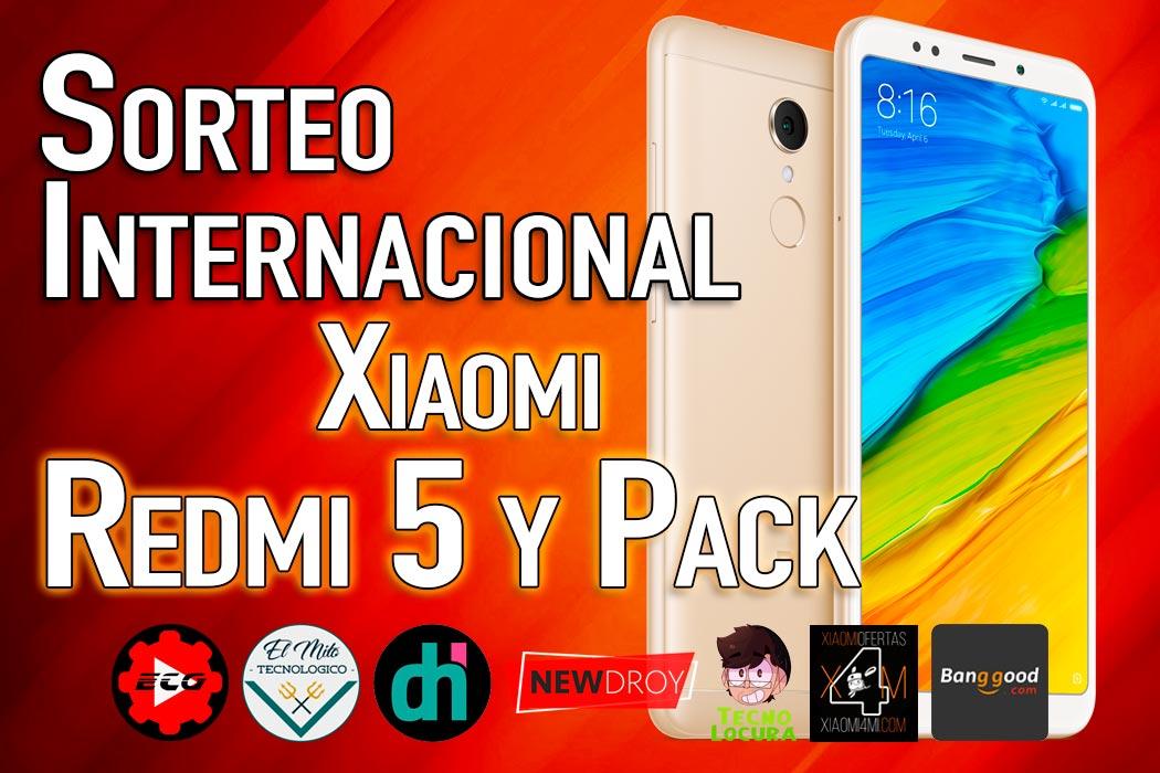 SORTEO Xiaomi Redmi 5