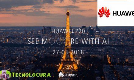 Huawei P20 en directo desde París AQUÍ