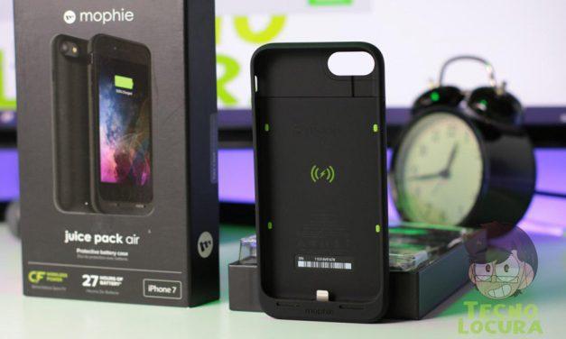 Mophie Juice Pack Air para iPhone 7: Analisis