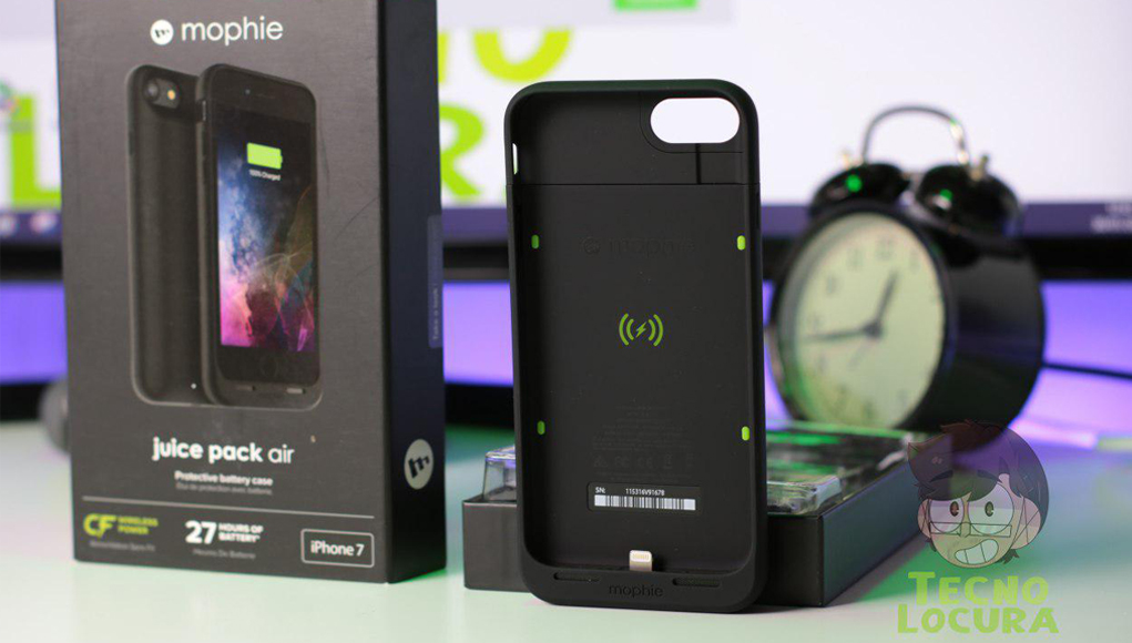 Mophie Juice Pack Air Para Iphone 7 Analisis Tecnolocura My older mophies had a small switch to turn on when my battery ran low, now when my battery runs low if i cannot charge it quickly my phone goes dead. mophie juice pack air para iphone 7