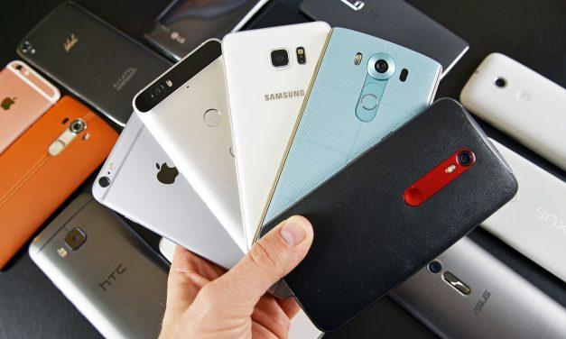 Los 5 smartphones más vendidos de todos los tiempos