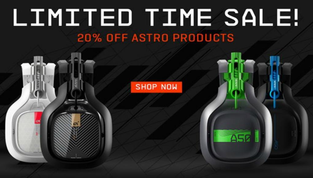 Astro Gaming 20 De Descuento Temporal Tecnolocura
