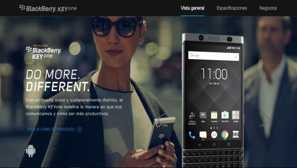 BlackBerry KEYone para el Día de la Madre